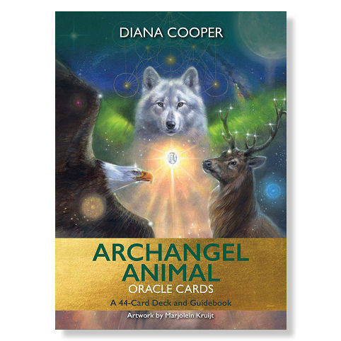 'Archangel Animal Oracle Card deck', Marjolein Kruijt illustrator orakelkaarten